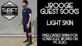 Thrift CONSOLE - JBoogie Socks - Light Skin Pack