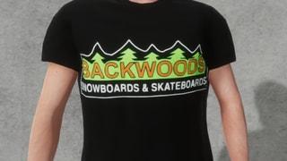 Backwoods logo t-shirt