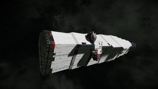 AEVV-443 UNITED INTERSTELLAR NATIONS NAVY CARRIER