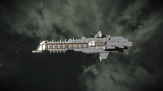Warhammer Overlord Class Battle Cruiser