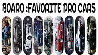 Board Favorite Pro Cars 9 Decks