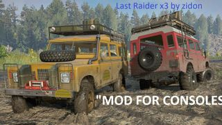 Last Raider x3 by zidon