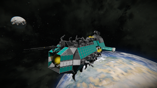 NKE Hellion Destroyer MK1 (painted)