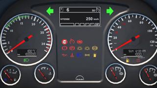 Man TGX Euro6 Smartphone Dashboard