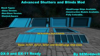Advanced Old Style Blinds Mod Pack