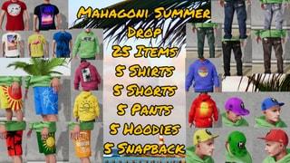 MAHAGONI SUMMER DROP 25 Items
