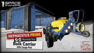 Bulk Carrier With Drop Pod