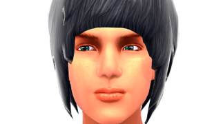Mens Emo Side Fringe