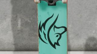 animal skateboards : wolf