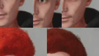 More Hair Colors #1 (Male) (All Hair Types)