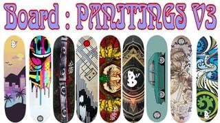 Board Pantings V3 9 Decks