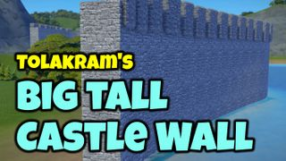 Big Tall Castle Wall
