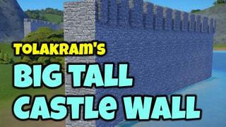 Big Tall Castle Wall