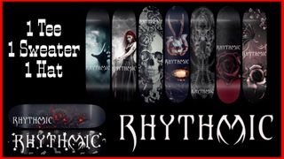 Rhythmic Skateboards Gothic Series