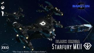 SA-23E Starfury Black Omega