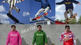 "SKATIK ""Skate Batik"" Hooded Sweatshirt"