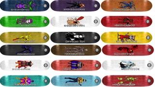 Board FAKE HERO Pro Series 18 Decks