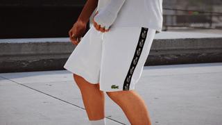 Lacoste White Short