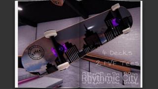 Rhythmic Skateboards - Rhythmic City Drop