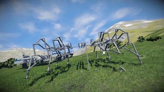Reaper prototype strandbeest base walker