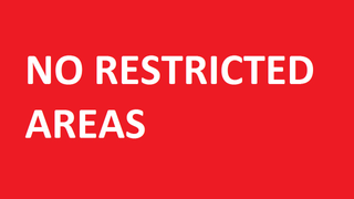 No Restricted Area Mutator