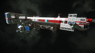 Deep Space Galaxy Colonization Ship