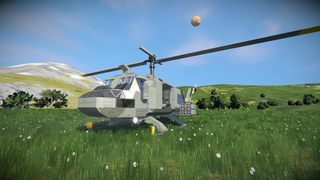 Bell UH-1 Huey (Originally by Lixyss)