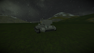 Mane battle tank prototype