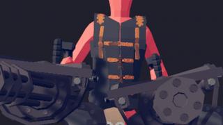 Minigun Rider