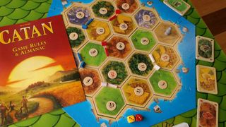 Settlers of Catan (with auto-built board)