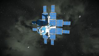 Solar Cargo Ship