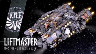 V.M.E modified Liftmaster Salvage-Vessel