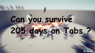 survive 205 days in tabs