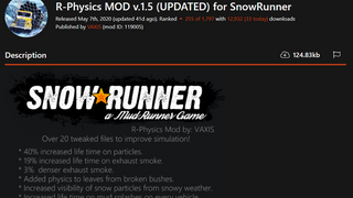 R-Physics MOD v.1.5 (Cleaned and updated for 10.1)