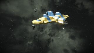 Gynteck Cryo Ship
