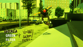 The Green filter - Emerica Coloring Filter for XLG