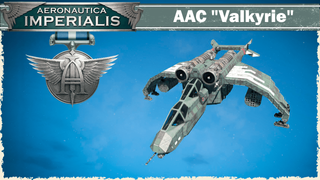 """[WH40k] AAC """"Valkyrie"""""""