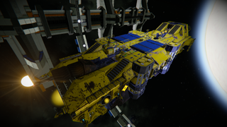 AEC° Alto Mining Barge