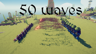 50 waves