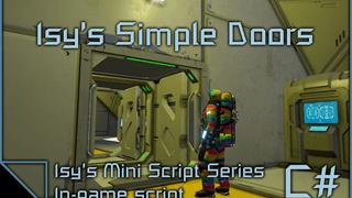 Isy's Simple Doors Script for Space Engineers