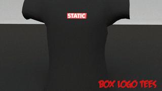 Static Box Tee Drop