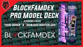 Red Wolf Skateboards - BlockFamDex Pro Model Decks
