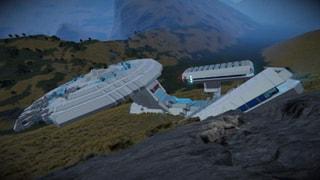 Star Trek Ship Wrecked