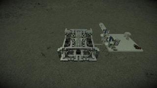 Aqua Dean Workshop Engine for all large ships 1