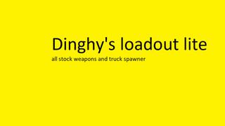 Dinghy's Full Loadout Stock Kit