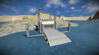 USSM Hanger Small Ship
