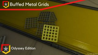 Buffed Metal Grids - Odyssey Edition