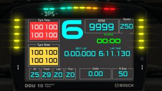 Advanced dashboard (Bosch DDU-10 but modified)