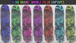 [Griptape] [Pack] Colored Marble – Globe Brand