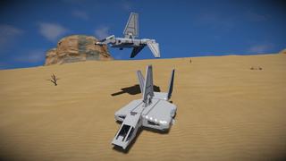 Star Wars Legends Sentinel Shuttle